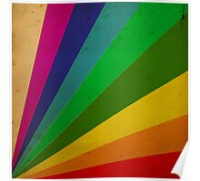 Color Rays Poster