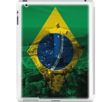 Brazil flag plus scenery iPad Case/Skin
