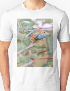 Blue Headed Lizard - Peeking Out T-Shirt