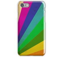 Color Rays iPhone Case/Skin