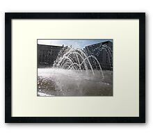 Arching Framed Print
