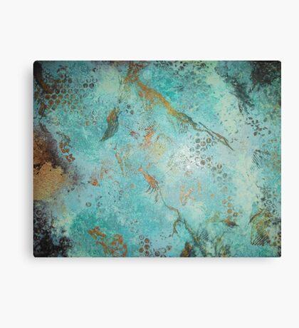 Copper Patina Canvas Print
