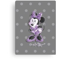Miss Minnie Canvas Print