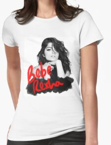 Bebe Rexha Design Womens Fitted T-Shirt
