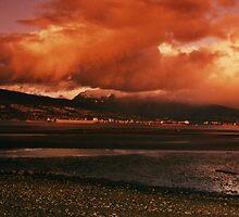 Volcanic Sunset by carolssecrets