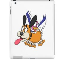 Duck Hunt The Cowardly Duo iPad Case/Skin