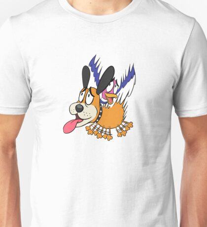 Duck Hunt The Cowardly Duo Unisex T-Shirt