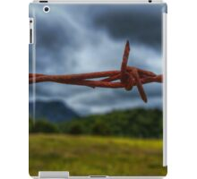 Barbed wire. iPad Case/Skin