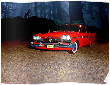 """Christine"" from the mind of horror writer stephen King by ALIANATOR"