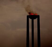 Olympic Flame by cameraperson