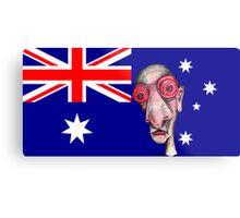 Insomniac Goes to Australia Metal Print