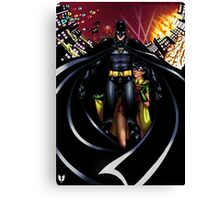 Chaos in Gotham Canvas Print