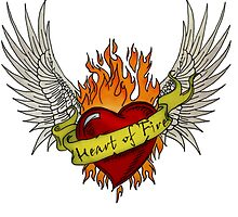 Heart of Fire - Angel Version by Lyrieux Cresswell-Croft