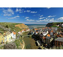 The Seaside Village of Staithes Photographic Print