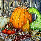 Autumn Still Life by WildestArt