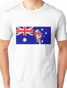 Insomniac Goes to Australia Unisex T-Shirt