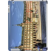 The place to be in Madrid iPad Case/Skin