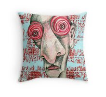 City Insomniac Throw Pillow
