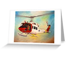 Huey UH-1N  Greeting Card