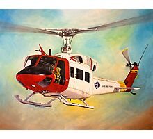 Huey UH-1N  Photographic Print
