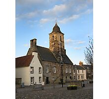 Culross Mercat Cross Photographic Print