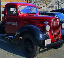 Big Red Truck by AnnDixon