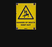 Danger of Death Womens Fitted T-Shirt