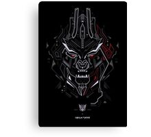 Megatron TF Canvas Print