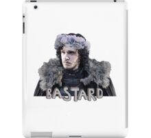 Snow Bastard Flower Crown iPad Case/Skin