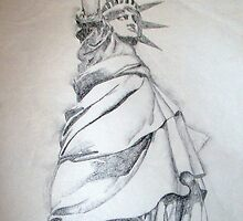 Statue of Liberty by AutumnLeaves