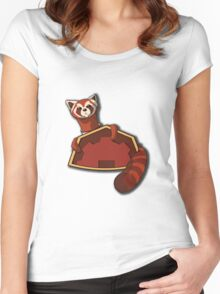 Fire Ferrets, sponsored by Future Industries!  Women's Fitted Scoop T-Shirt