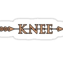 Arrow to the Knee Sticker