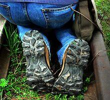 Kneeling shoes by Linda56