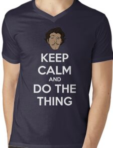 Do the thing! Mens V-Neck T-Shirt