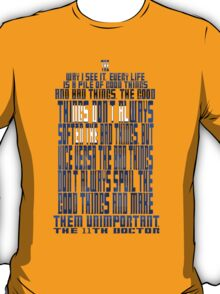 TARDIS Quote: The 11th Doctor T-Shirt