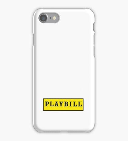Playbill  iPhone Case/Skin
