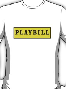 Playbill  T-Shirt