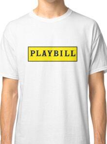 Playbill  Classic T-Shirt