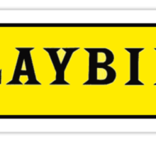 Playbill  Sticker