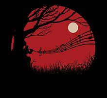 Lonely samuraï by RuneSlays