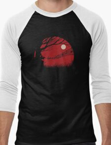 Lonely samuraï Men's Baseball ¾ T-Shirt