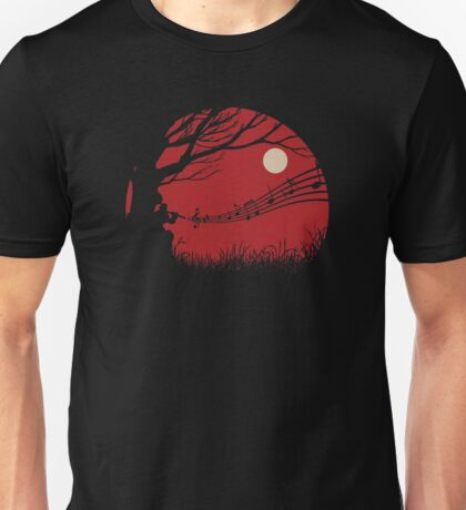 Lonely samuraï Unisex T-Shirt