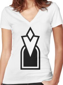 Quest Marker Women's Fitted V-Neck T-Shirt