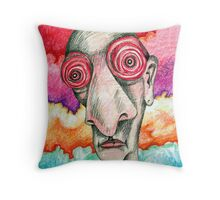 Grateful Insomniac Throw Pillow