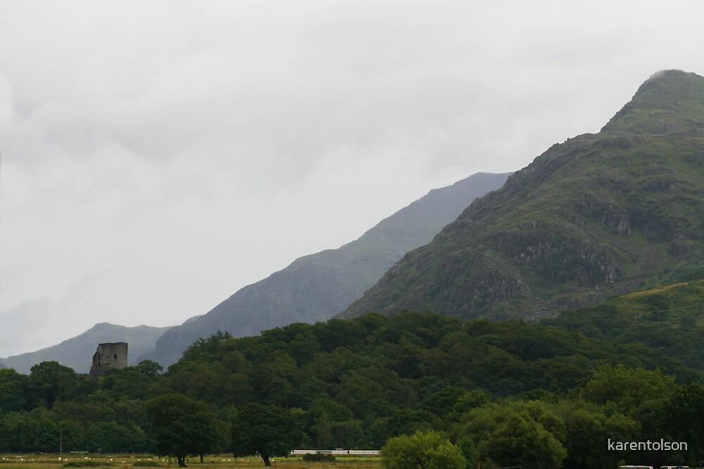 Dolbadarn Castle  by karentolson