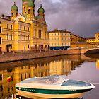 Church of the Holy Isidorovskaya  by LudaNayvelt