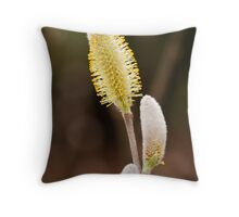 Half a catkin!! Throw Pillow