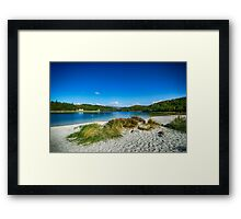 Morar Beach Framed Print
