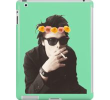 Gerard Way - Flower Crown iPad Case/Skin