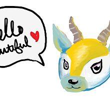 Lopez the smug antelope by Katherine Clarke